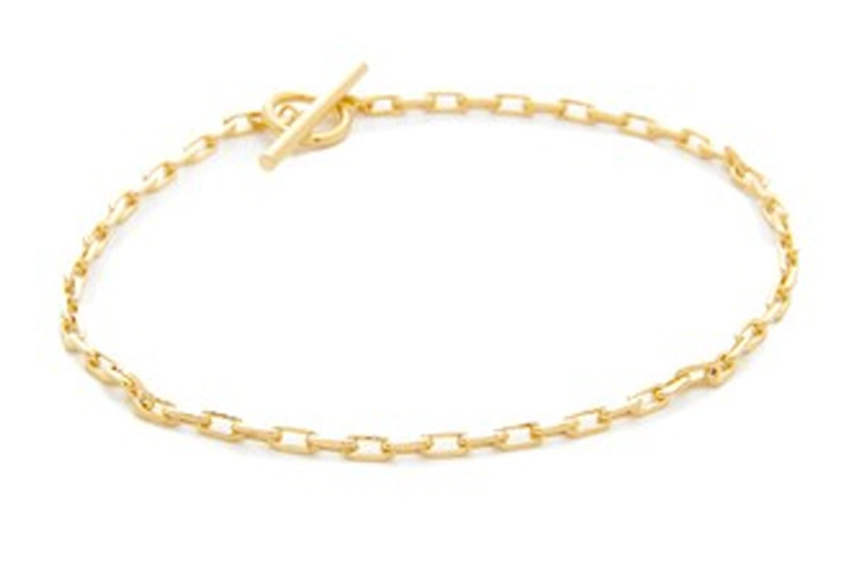 Toggle Lariat Anklet