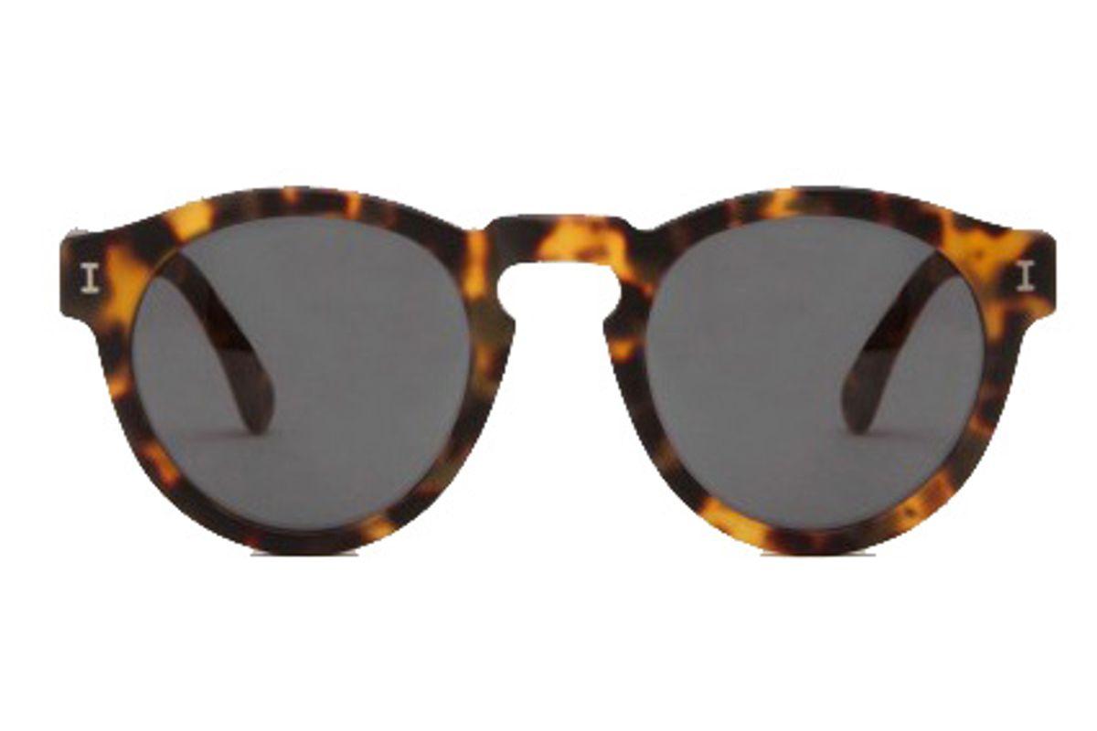 Leonard Matte Tortoise Sunglasses