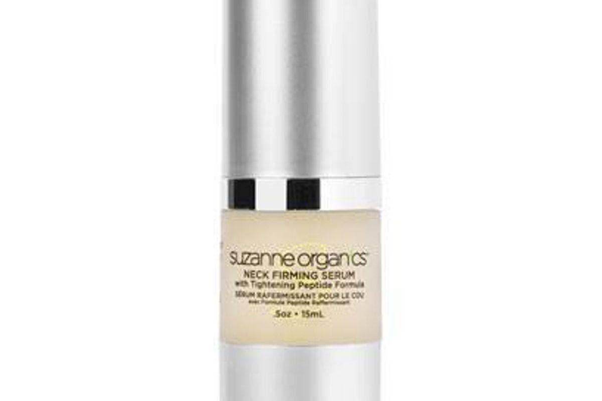 suzanne organics neck firming serum with tightening peptide formula