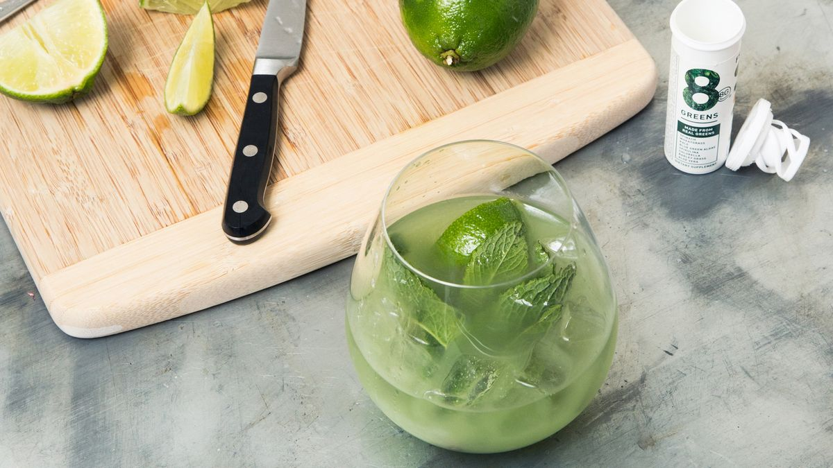 A Greens-Packed Cocktail A Cancer Survivor Enjoyed After Completing Treatment