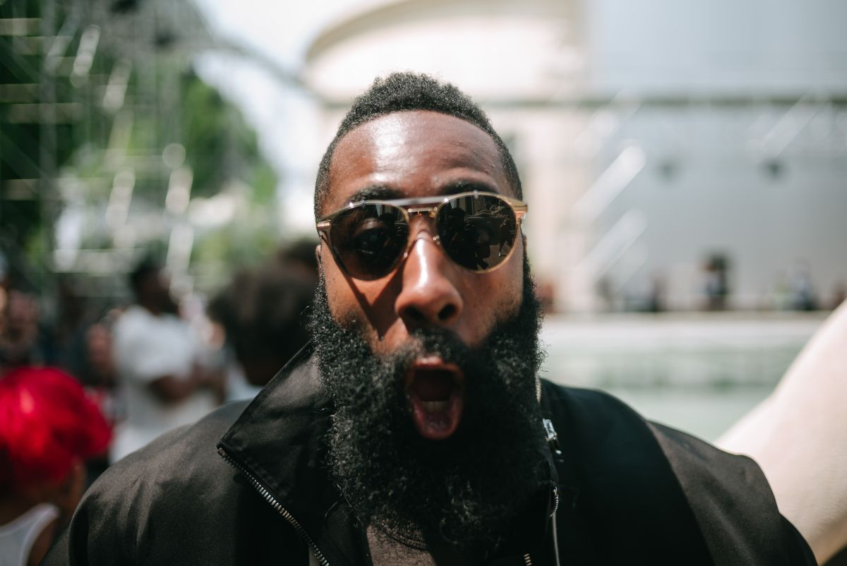 Tagging Along for James Harden's First-Ever Paris Men's Fashion Week