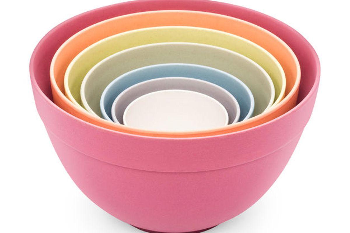 Pastel Nesting Bowls