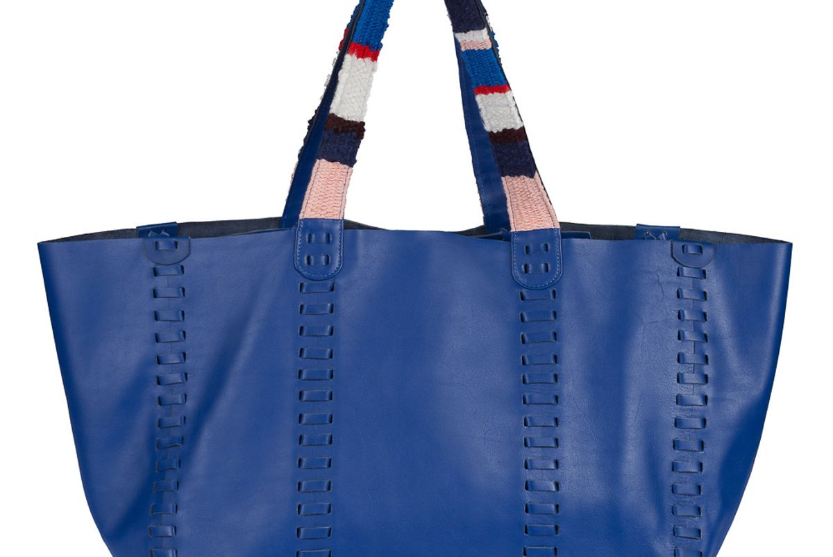 Ithaca Leather Tote Bag