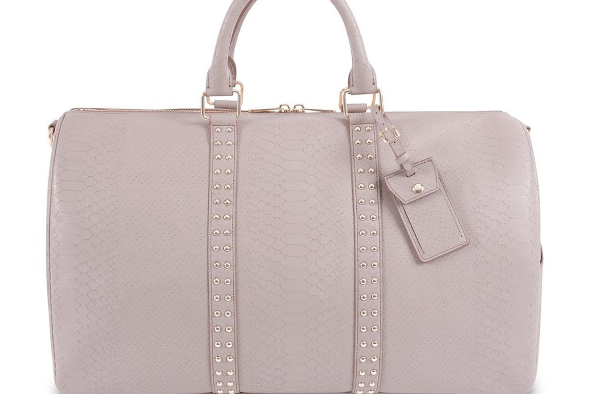 Warm Taupe Hideaway Holdall