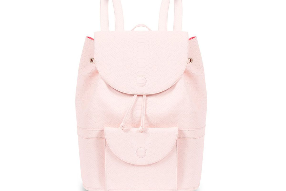 Blush Pink City Backpack