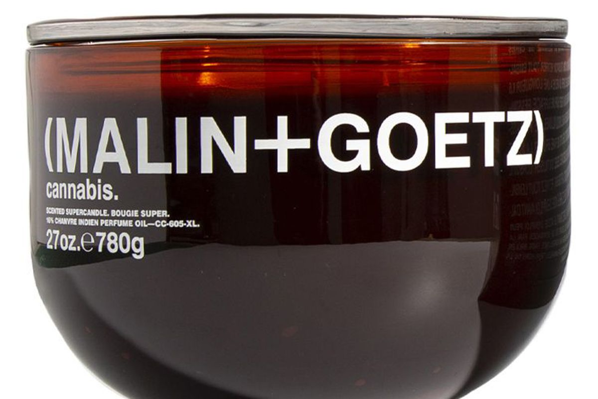 malin and goetz cannabis supercandle