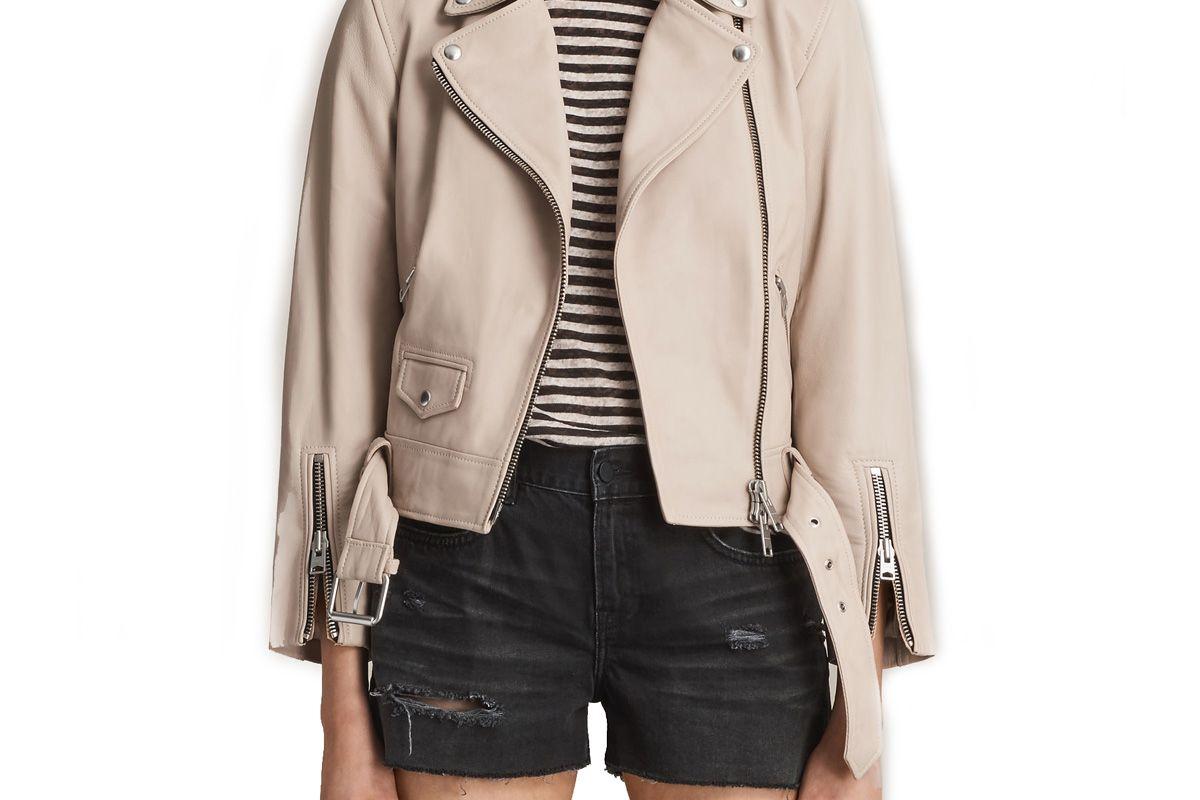 Cole Leather Biker Jacket