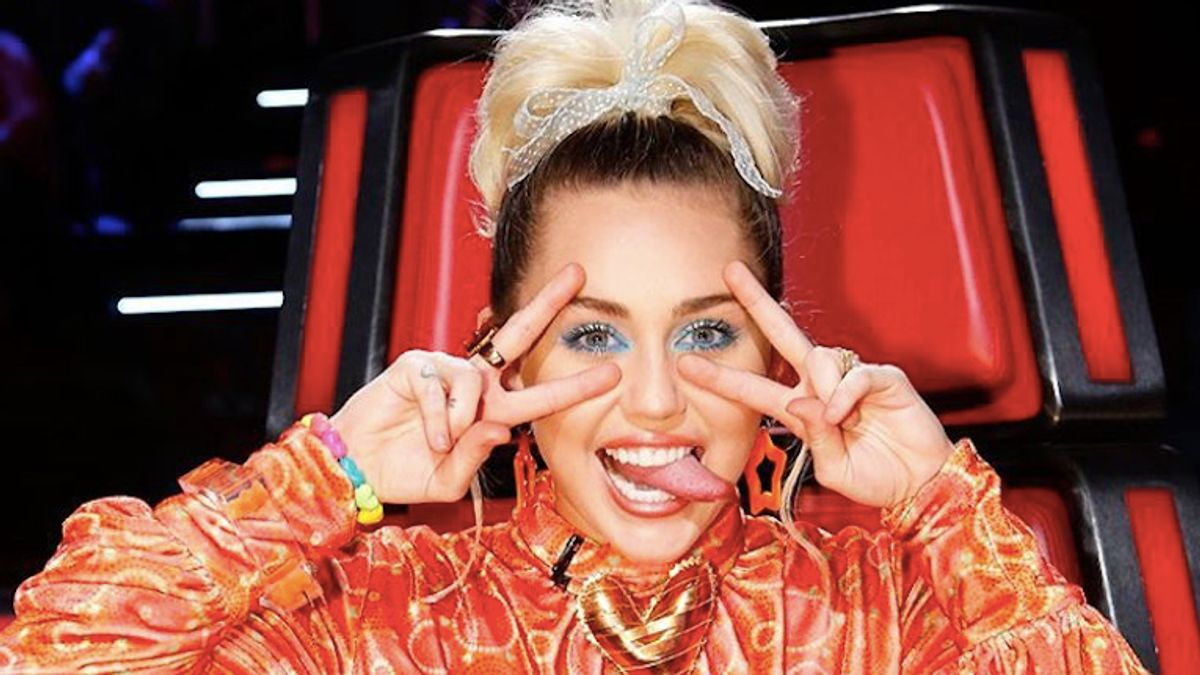 So *This* Is Why Miley Cyrus Stopped Smoking Weed...