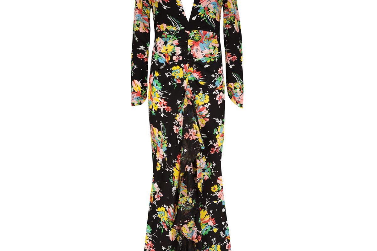 rixo london backless midi dress