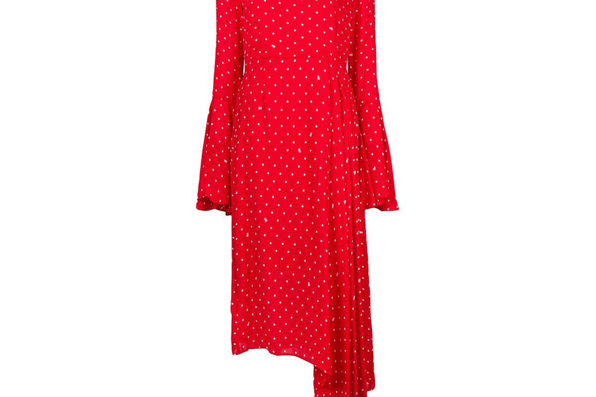 essentiel antwerp problemo polka dot dress