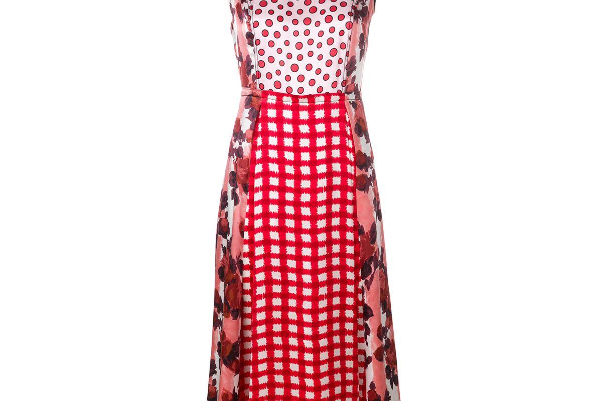 marni ingrid print midi dress