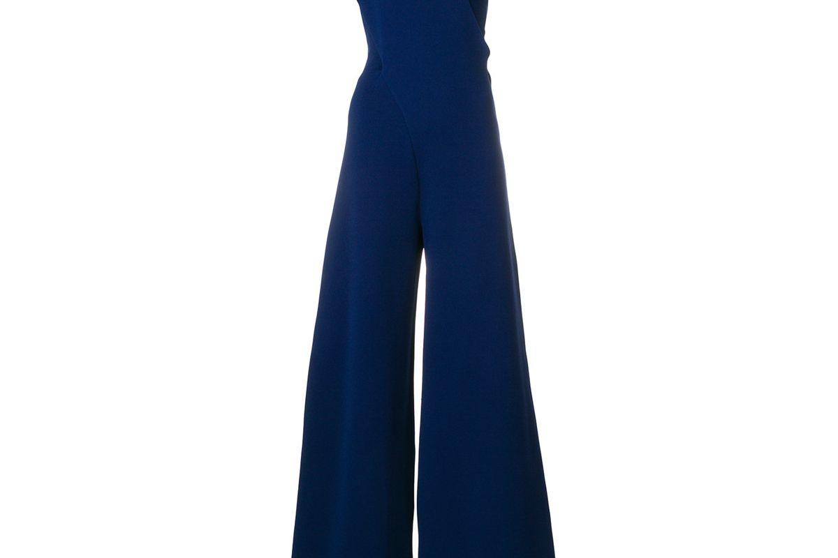 stella mccartney classic one-shoulder jumpsuit