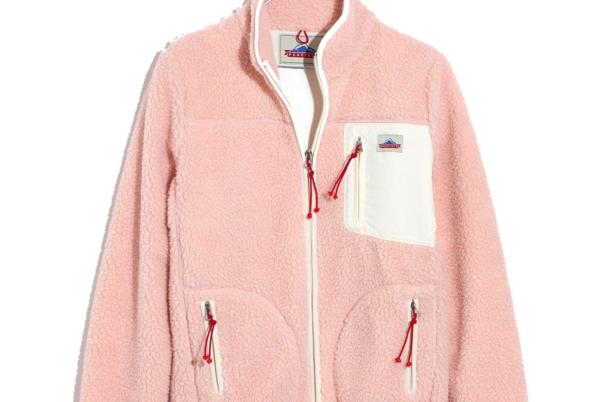 Lucan pink fleece jacket