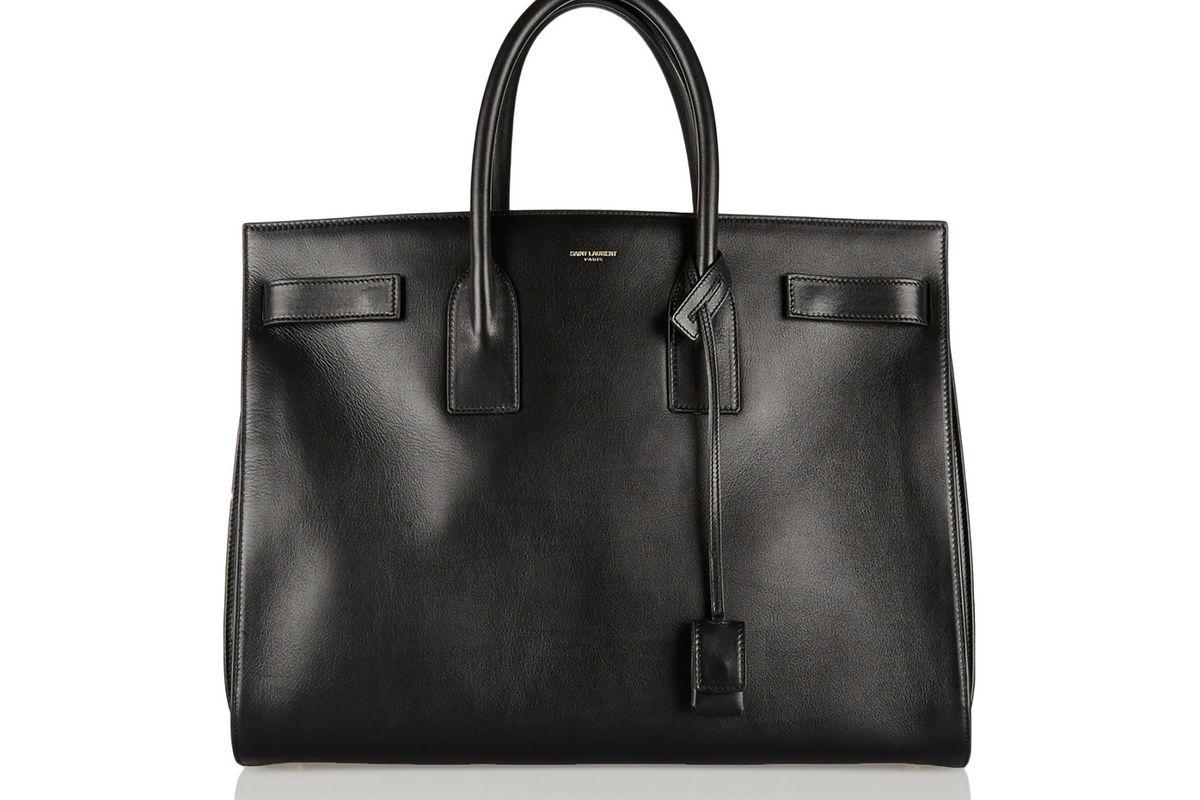 Sac De Jour medium leather tote