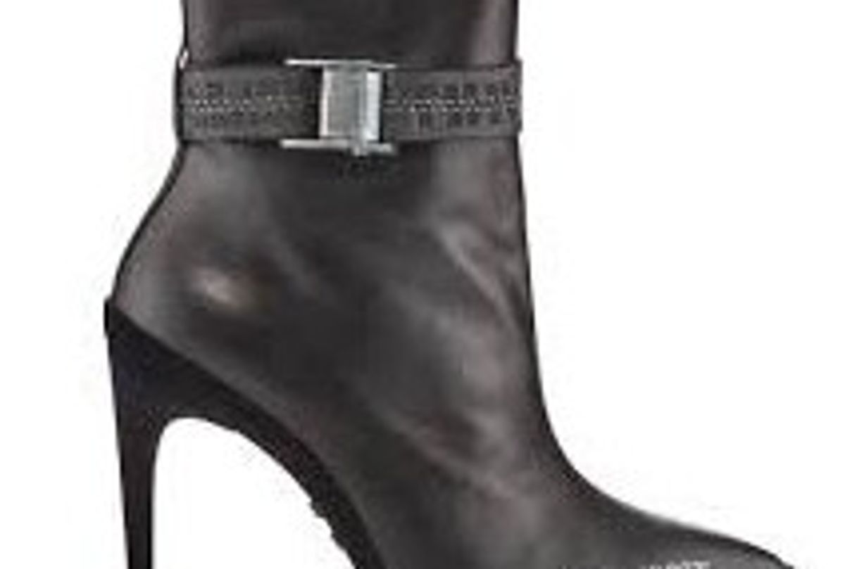 For Walking Leather Ankle Boot