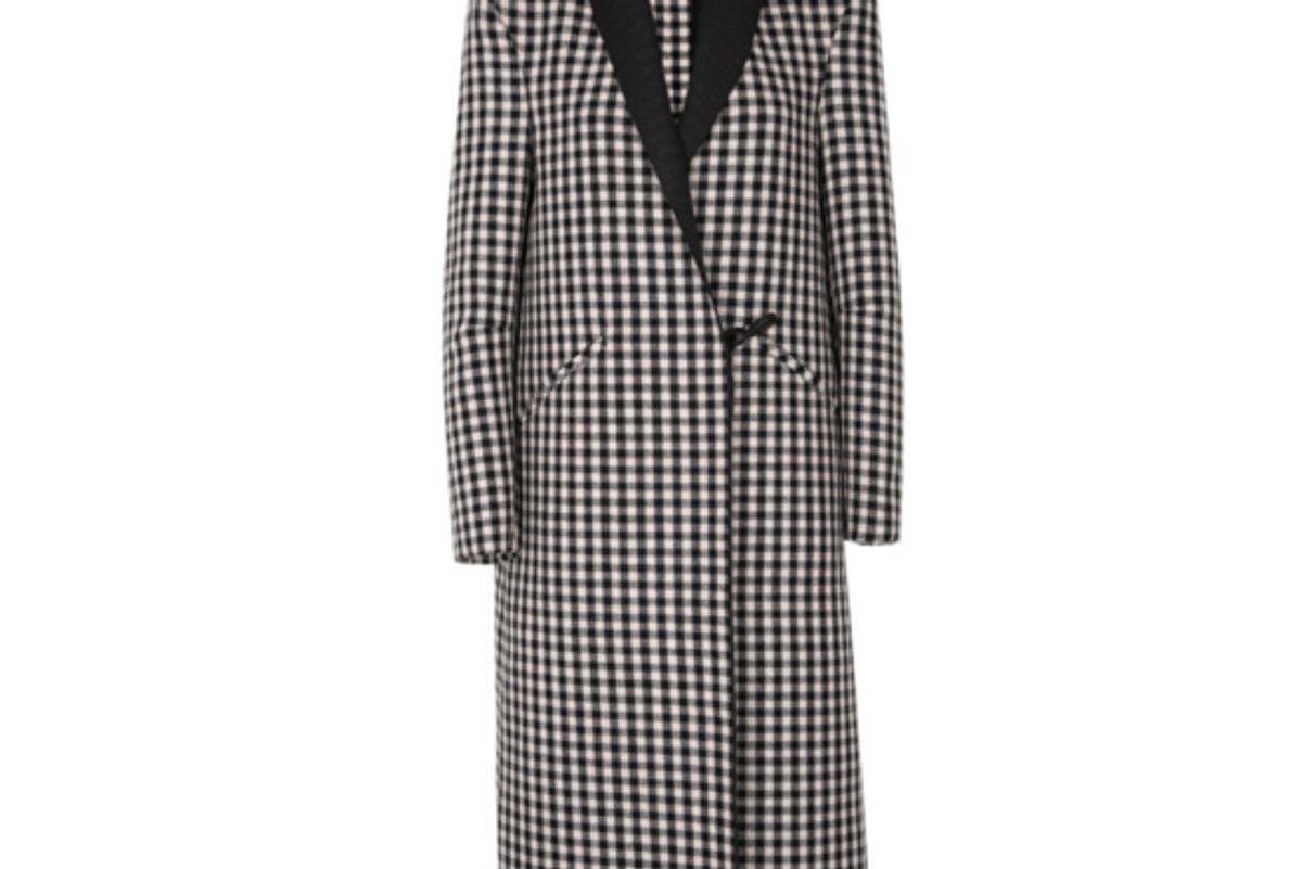 Cool Check Coat