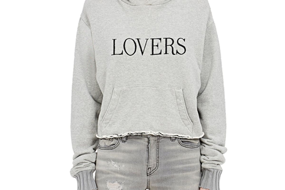 """""""Lovers"""" Cotton Hoodie"""