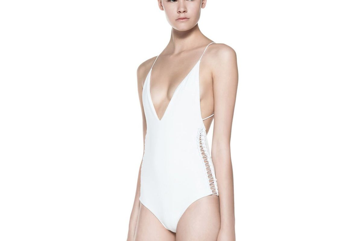 Laced Coil One Piece