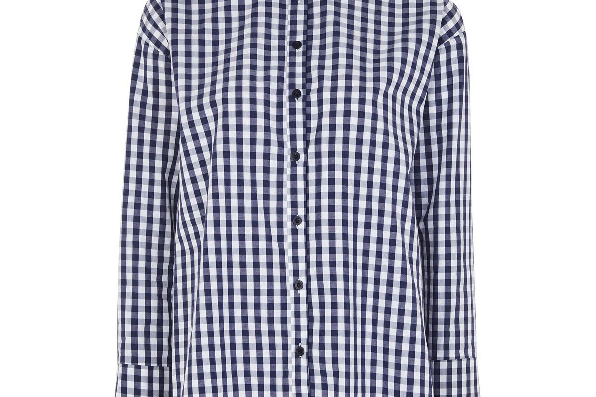 Gingham Double Cuff Shirt
