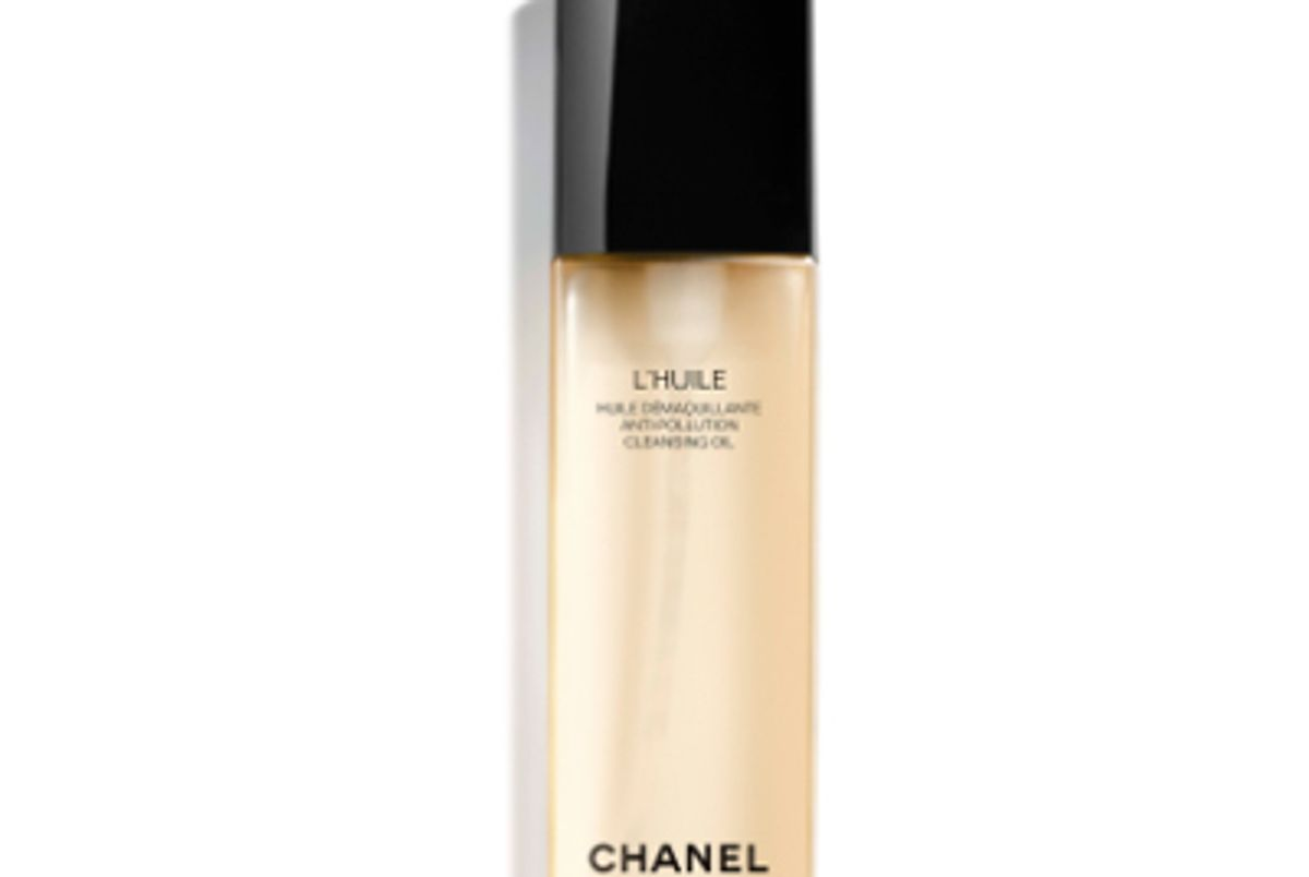 chanel lhuile anti pollution cleansing oil