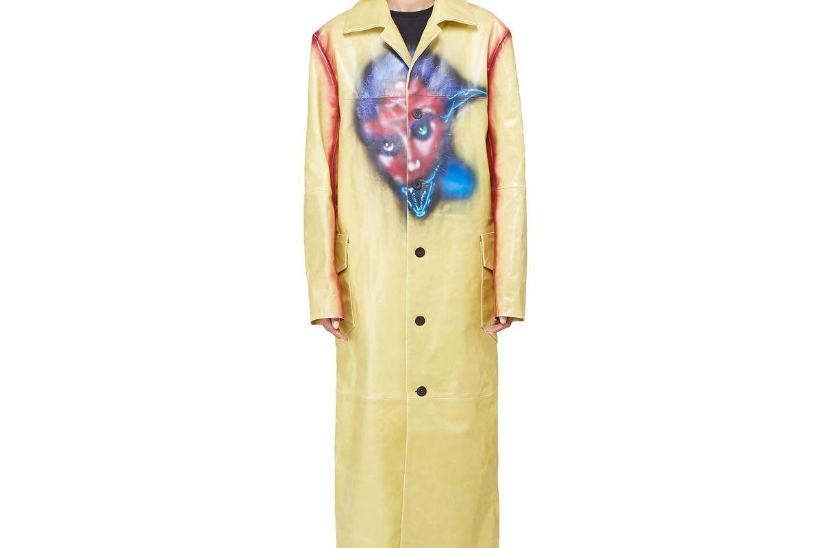 mowalola monster coat