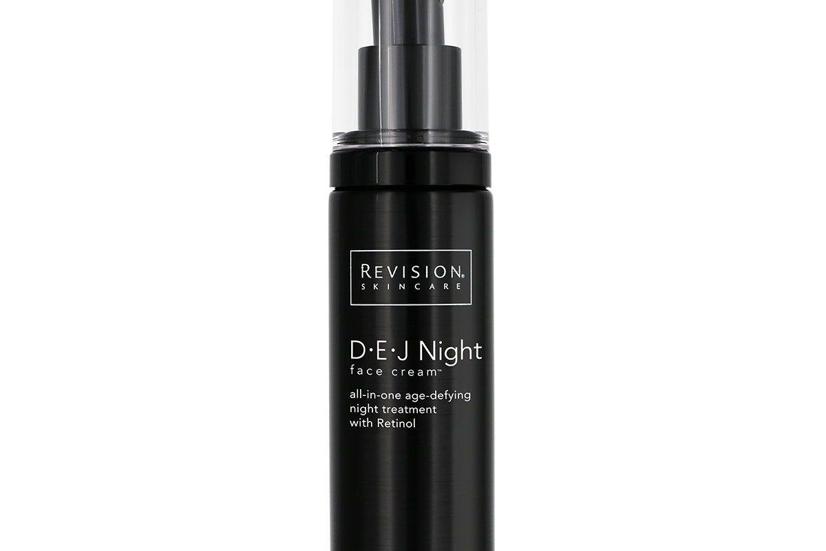 revesion skin care d e j night face cream