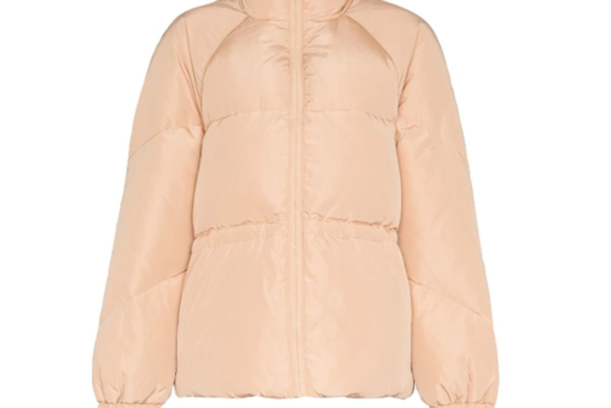 ganni whitman padded puffer jacket