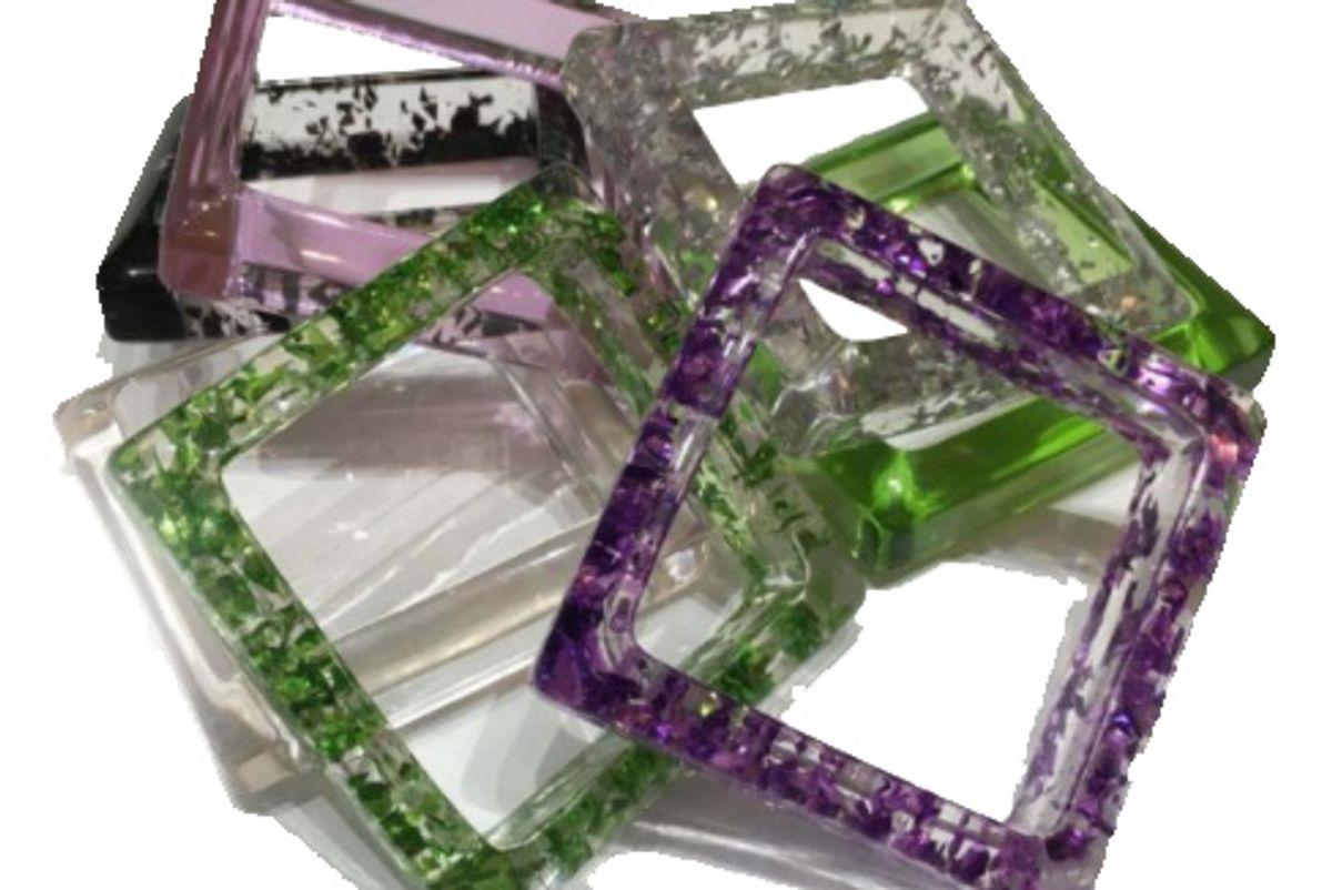 Lucite Jewelry