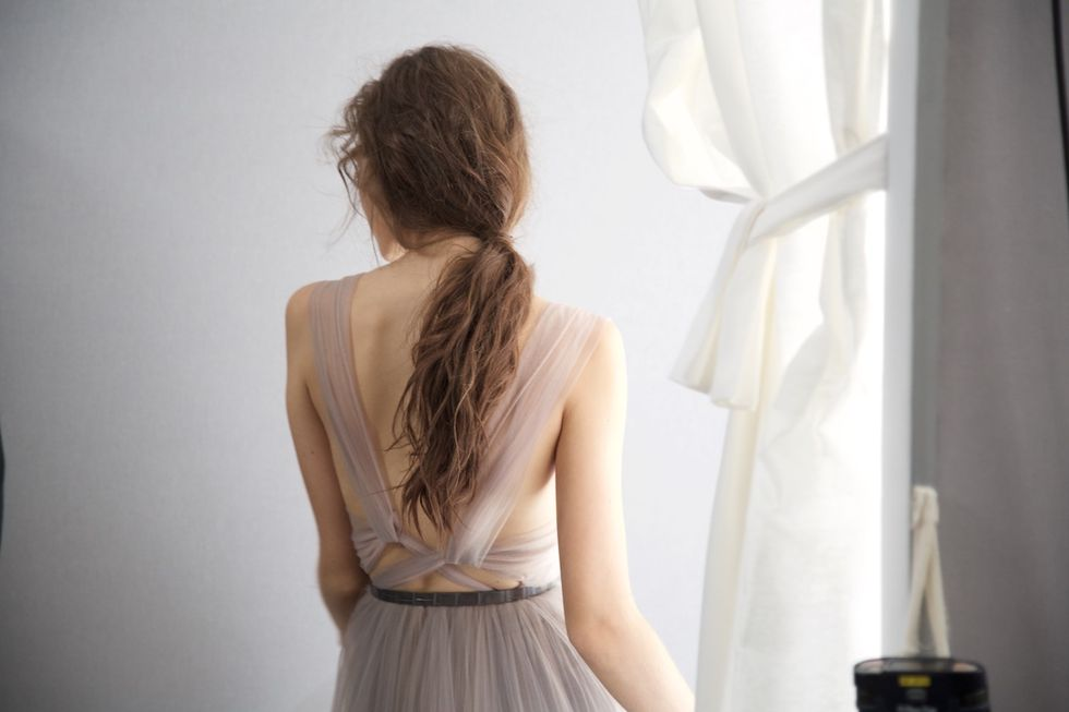The Most Beautiful Photos from Behind the Scenes at Dior Couture
