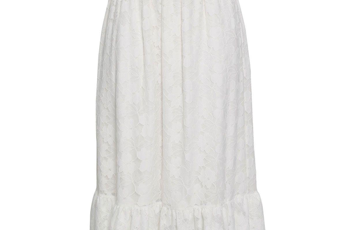 baum und pferdgarten corded lace midi skirt