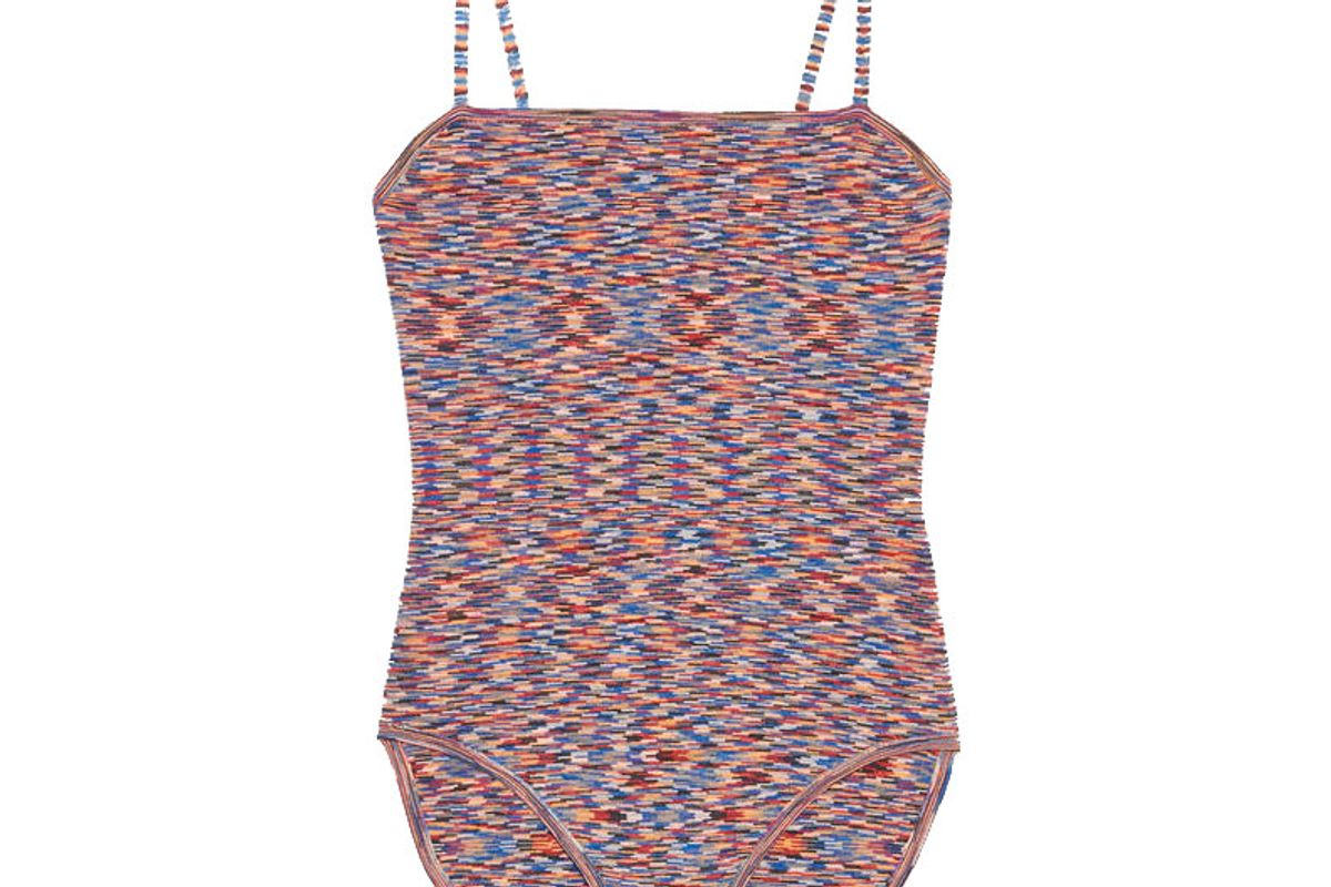 sandro strappy knitted bodysuit