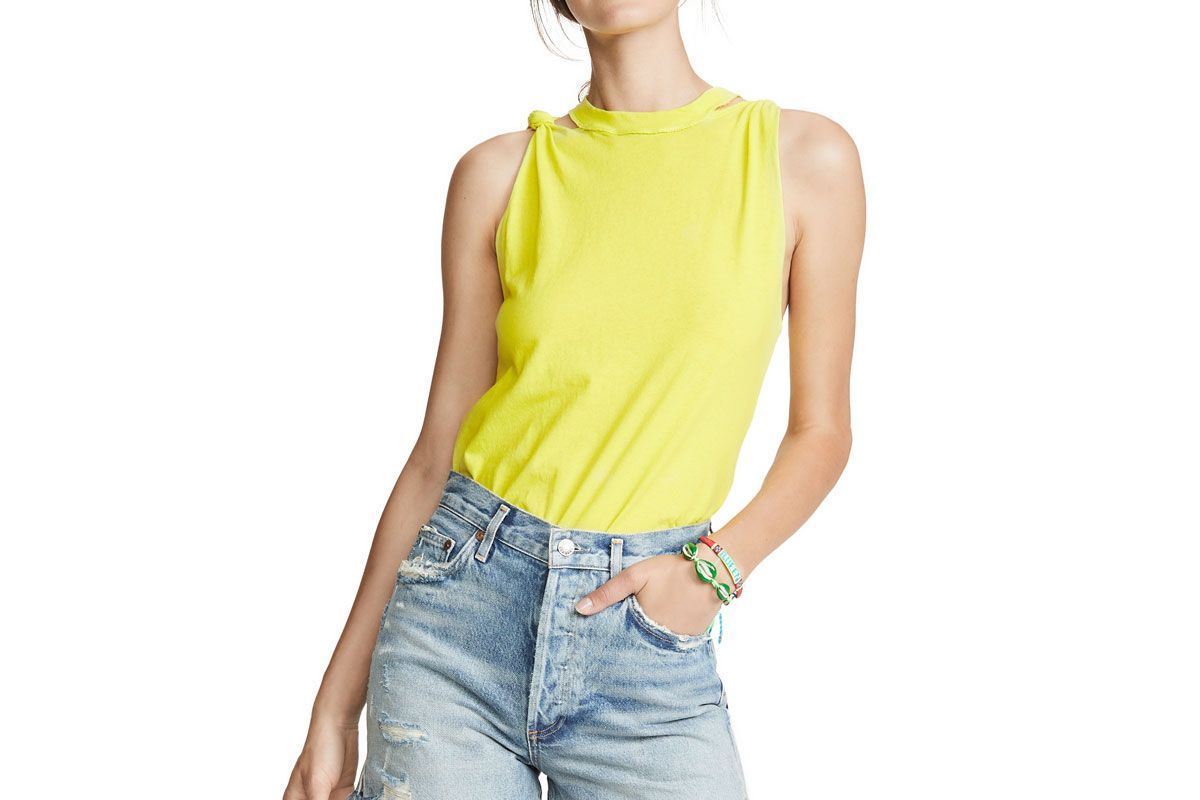 free people the twisted solid tank