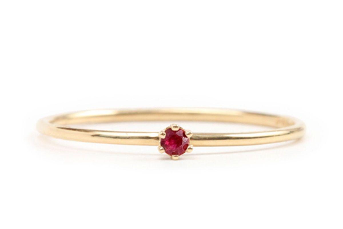 satomi tiniest the tiniest ring ruby