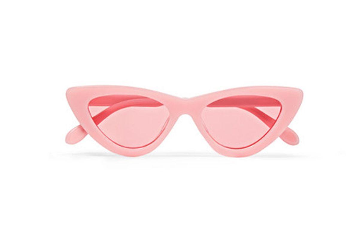 chimi cat eye acetate sunglasses