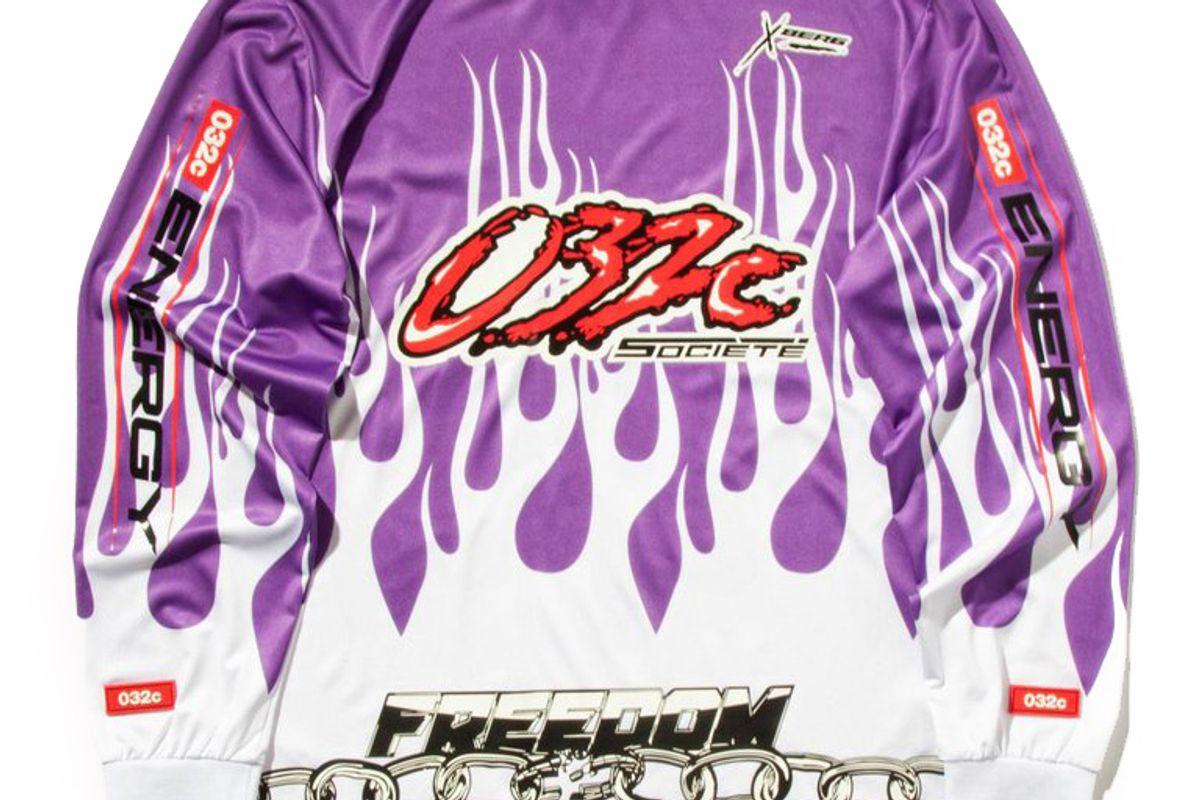 Motocross Long Sleeve Flames T-Shirt