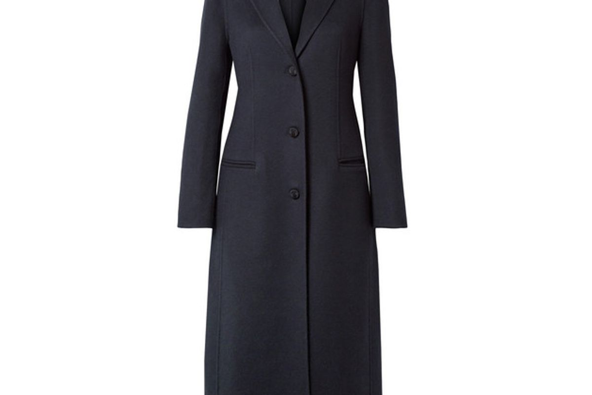 joseph archi brushed wool and silk blend coat