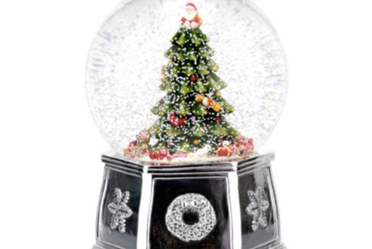 "Snow Globe Tree ""Wishing You A Merry Christmas"""