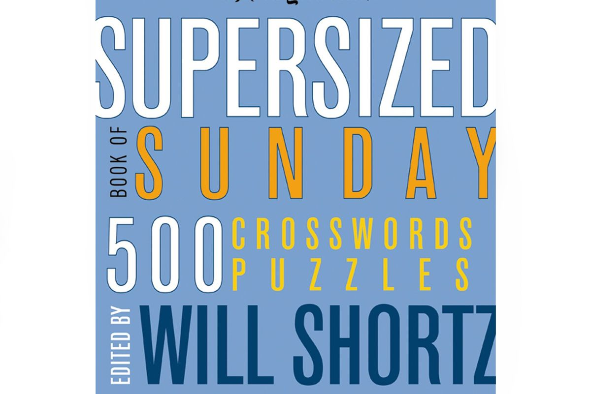 Supersized Book of Sunday Crosswords: 500 Puzzles