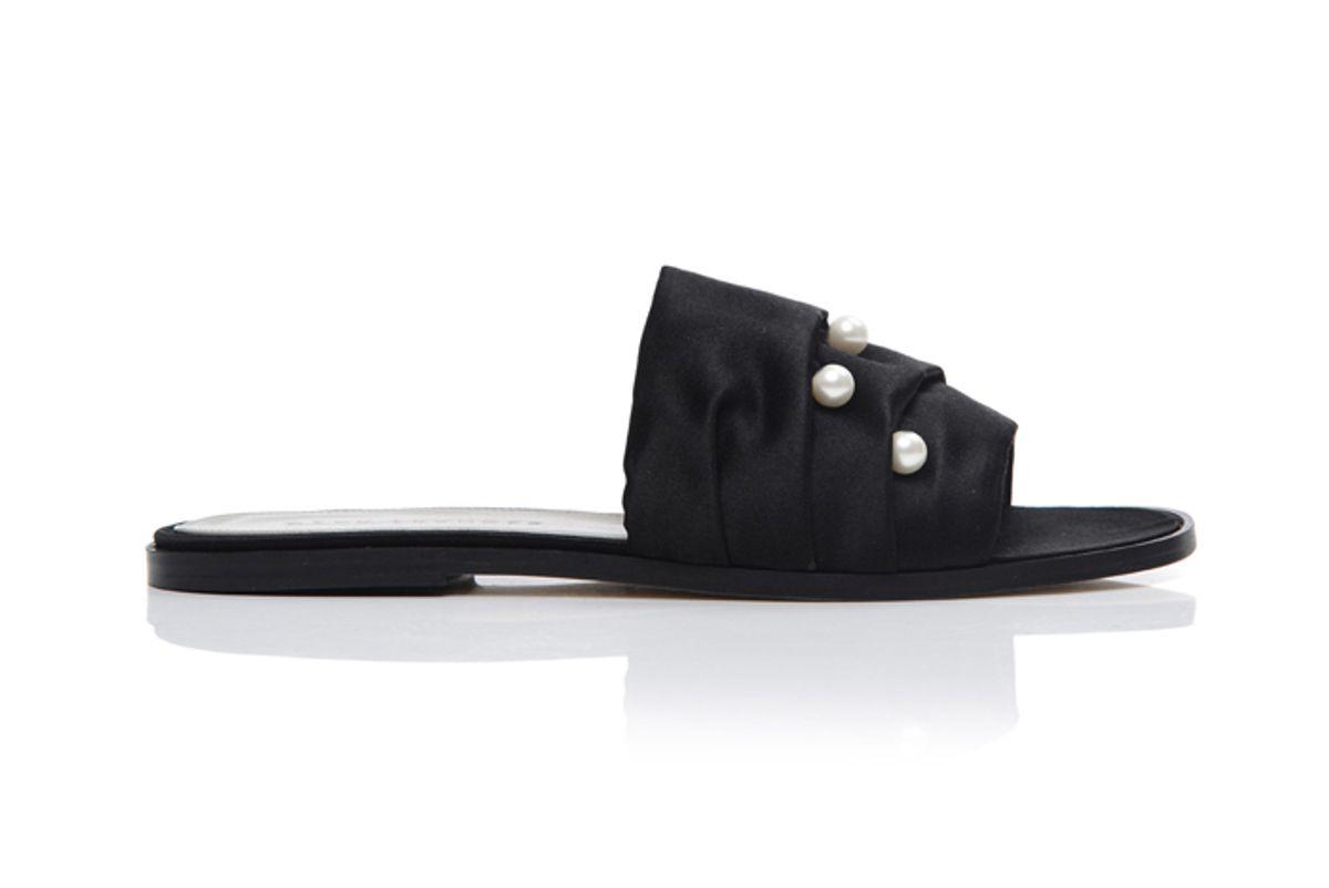 Jen Elegant Minimalist Pearl Slides