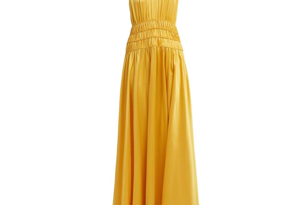roksanda satin gown