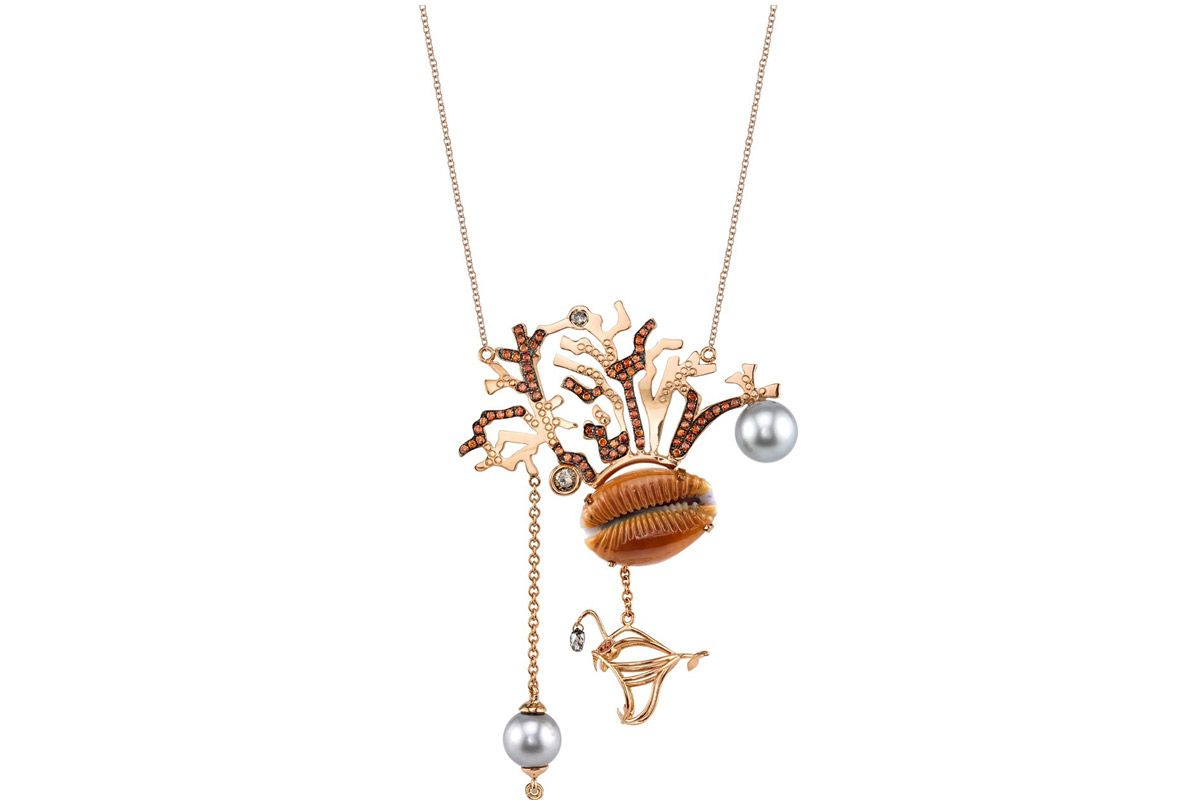 daniela villegas in the wild necklace