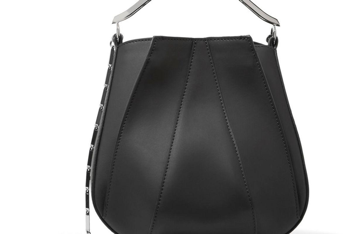 Pepper Leather Bucket Bag