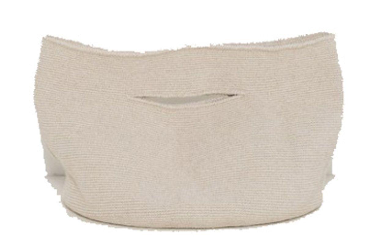 Crochet Bell Bag, Natural