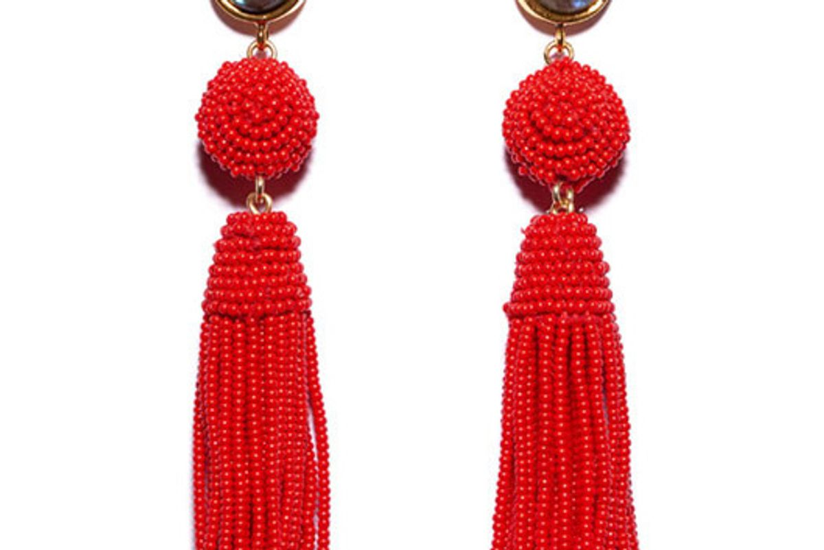 Red Havana Earrings