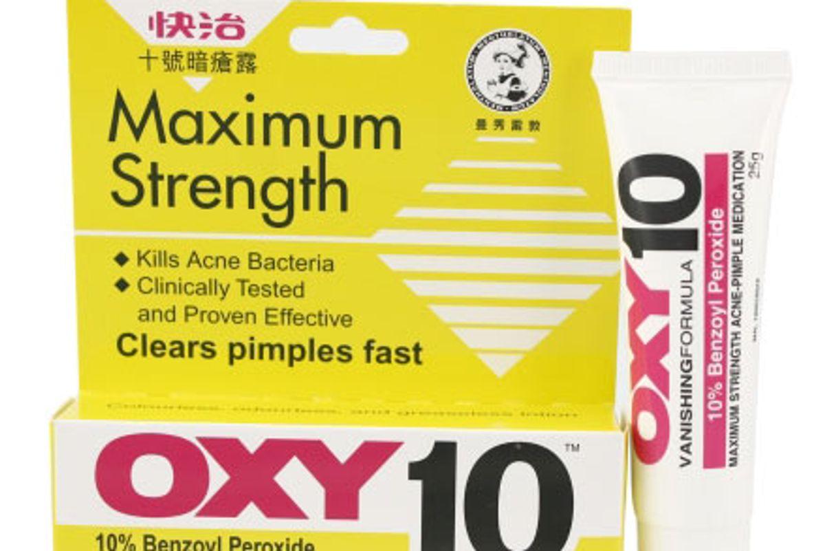 oxy maximum strength acne treatment