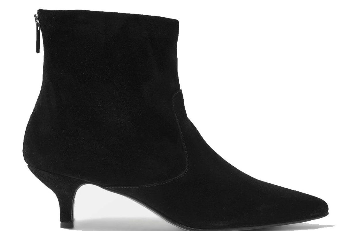 Aspen Kitten Heel Ankle Boots