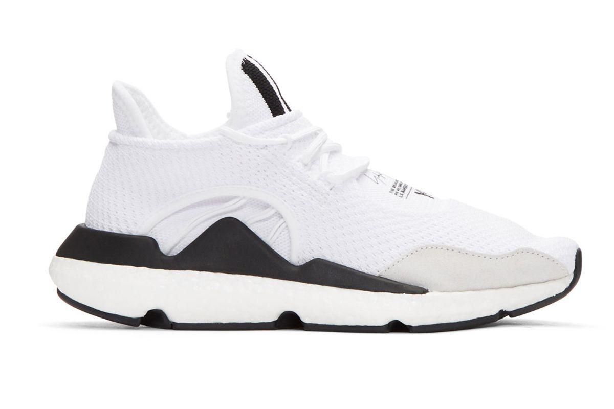 y3 white saikou pk sneakers