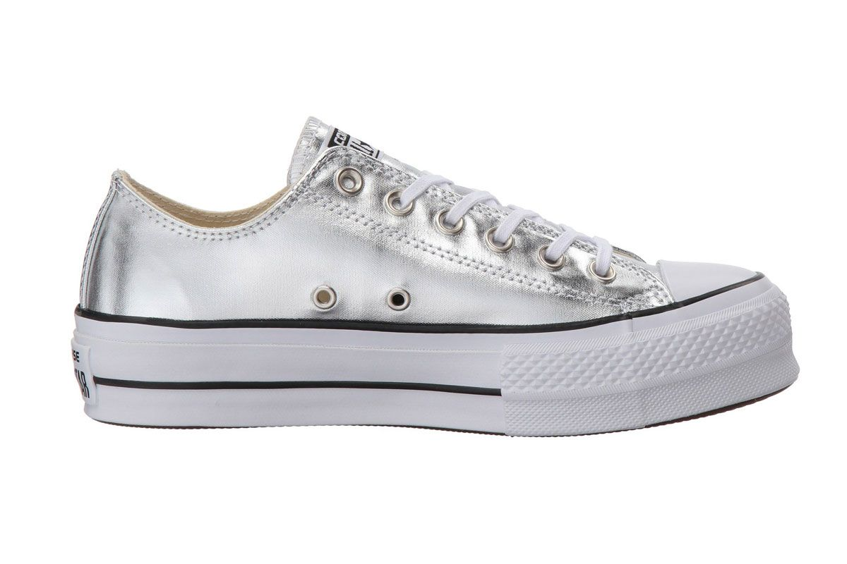 converse all star canvas lift sneaker