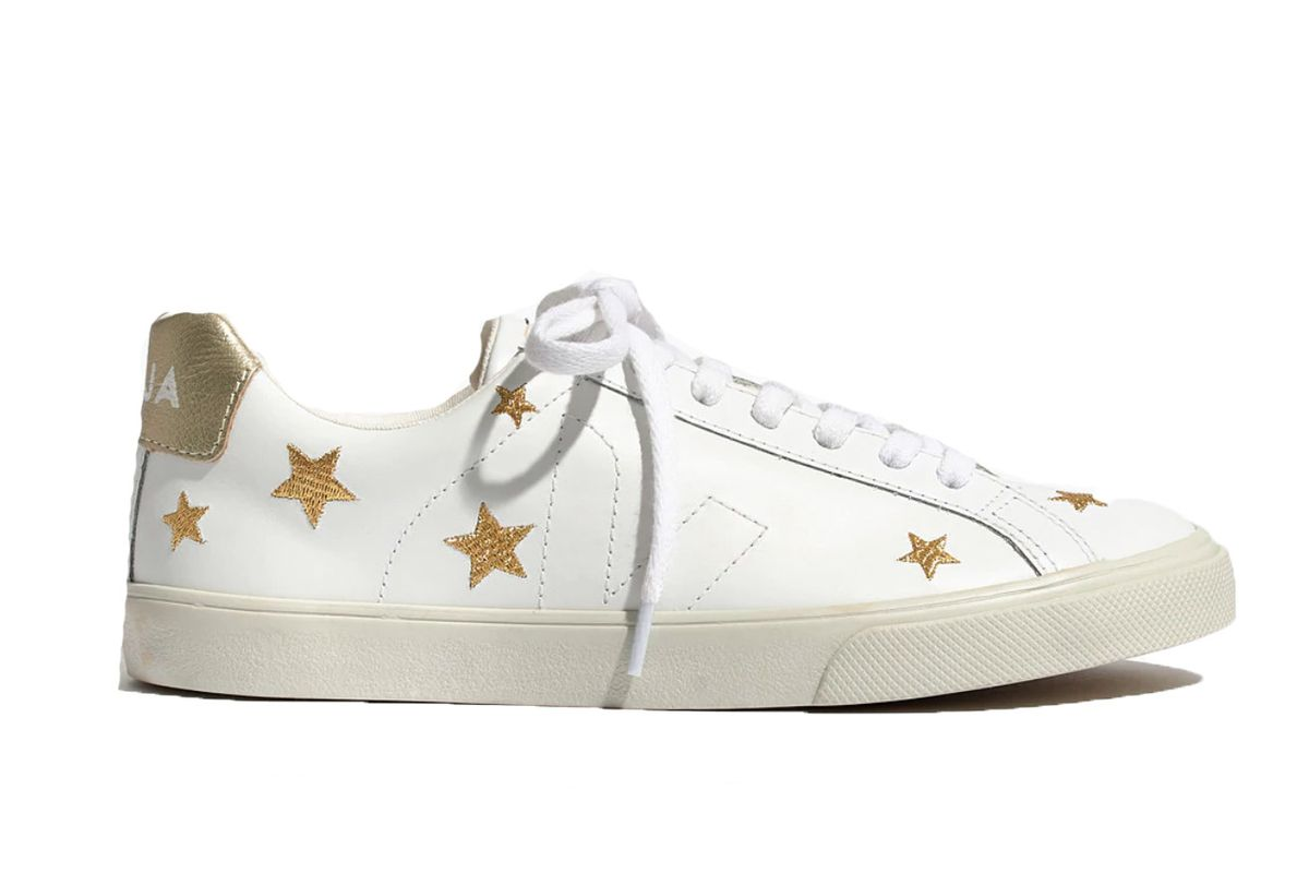 madewell veja esplar low sneakers in embroidered stars