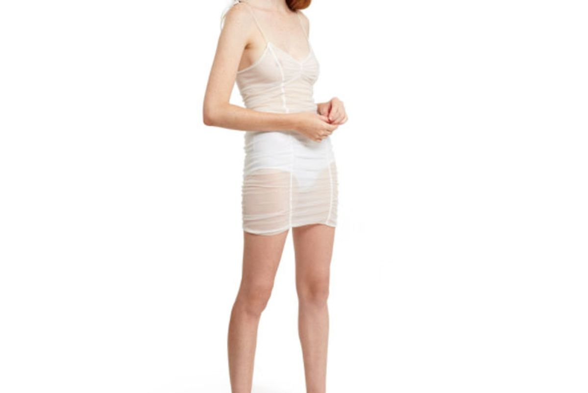 daisy unveiled slip dress